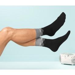 پک 2 عددی جوراب ساق بلند طرح دار مردانه چیبو | Tchibo