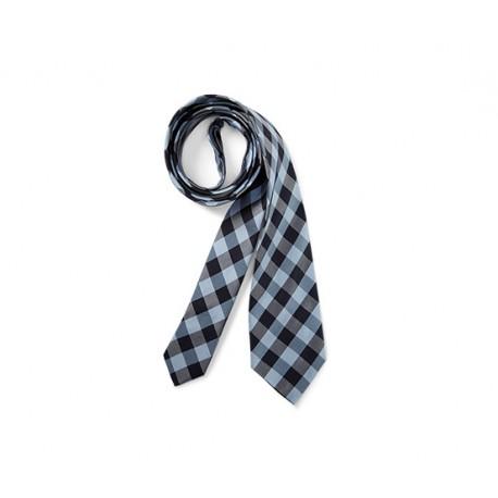 کراوات ابریشمی طرح چهارخانه چیبو | Tchibo