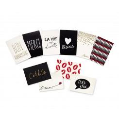 مجموعه 20 تکه کارت هدیه به همراه پاکت چیبو | Tchibo