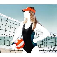 مایو ورزشی اسلیپ بدون اسفنج محافظ UV زنانه چیبو   Tchibo