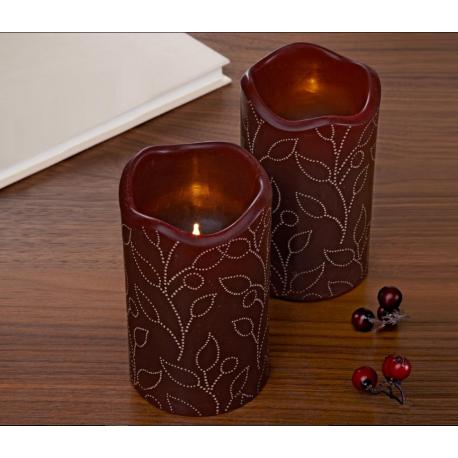ست دو عددی شمع موم زده LED چیبو  Tchibo