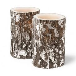 ست دو عددی شمع موم زده LED چیبو |Tchibo