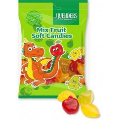 پاستیل میکس میوه ای کوچک لوهدرس آلمان | J.LUEHDERS