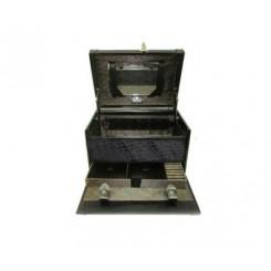 جعبه جواهرات و لوازم آرایشی رمزدار چرم پیرکاردین | Pierre Cardin