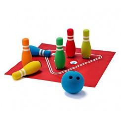 مجموعه کامل 8 تکه بازی بولینگ کودک و نوجوان چیبو | Tchibo