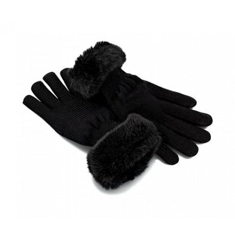 دستکش بافت خزدار زنانه چیبو | Tchibo