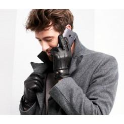 دستکش چرم طبیعی مردانه چیبو | Tchibo