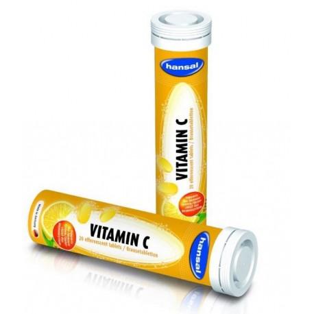 قرص جوشان ویتامین C هانسال آلمان | hansal