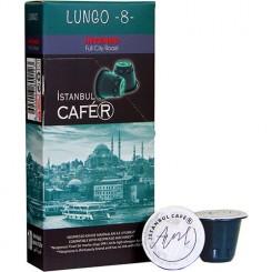 پک 10 عددی کپسول قهوه لانگو کافه آر | ®CAFE