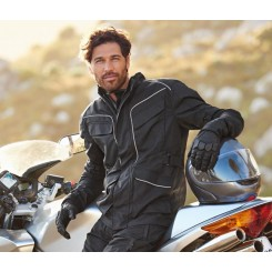 ست کاپشن و بارانی حرفه ای موتورسواری مردانه چیبو | Tchibo