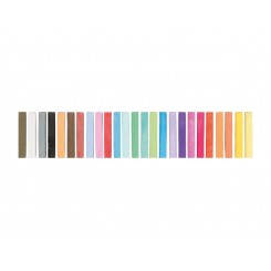 مجموعه 25 رنگ پاستل گچی کرلاندو | CRELANDO