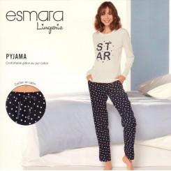 ست تیشرت و شلوار راحتی سفید زنانه اسمارا | ESMARA