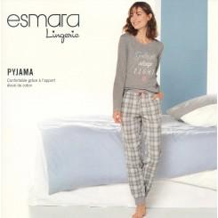 ست تیشرت و شلوار راحتی نقره ای زنانه اسمارا | ESMARA