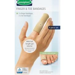 پک 4 عددی بانداژ طبی انگشت پا و دست سنسی پلاست | Sensiplast