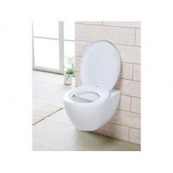 درپوش توالت فرنگی سفید رنگ میومار | miomare