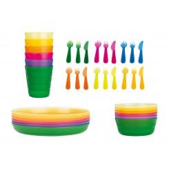 ست 6 پارچه کاسه پلاستیکی ارنستو | ERNESTO