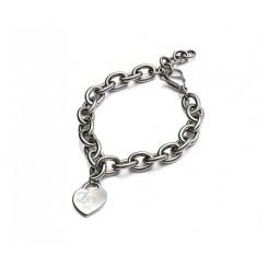 دستبند زنجیری استیل مدل Love زنانه چیبو | Tchibo