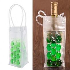 پک 2 عددی کیف ژله ای سبز خنک نگه دارنده نوشیدنی کی پی ام | KPM