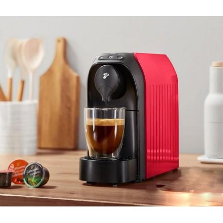 دستگاه قهوه ساز کپسولی چندکاره مدل کافیسیمو ایزی رنگ قرمز چیبو | Tchibo