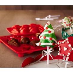 قالب کیک توپه ای طرح کریسمس چیبو |Tchibo