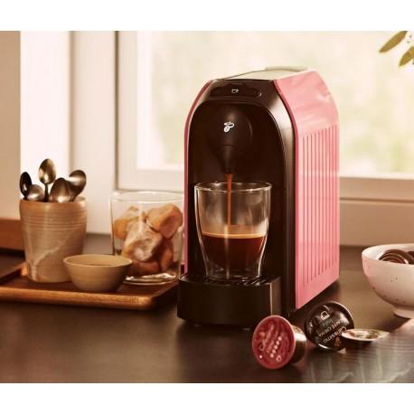 دستگاه قهوه ساز کپسولی چندکاره مدل کافیسیمو ایزی رنگ صورتی چیبو | Tchibo