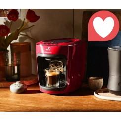 دستگاه قهوه ساز کپسولی چندکاره مدل کافیسیمو مینی رنگ قرمز چیبو | Tchibo