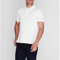 پلوشرت آستین کوتاه سفید مردانه پیرکاردین   Pierre Cardin