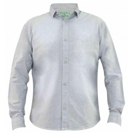 پیراهن کتان آستین بلند طوسی تیره مردانه جک ساوت   JACK SOUTH