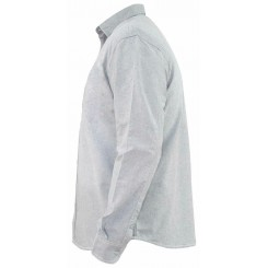 پیراهن کتان آستین بلند طوسی تیره مردانه جک ساوت | JACK SOUTH