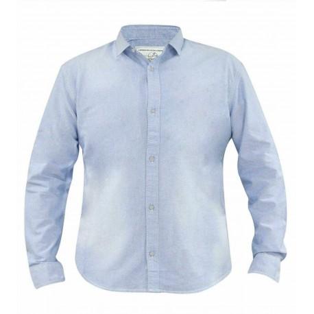 پیراهن کتان آستین بلند آبی روشن مردانه جک ساوت | JACK SOUTH