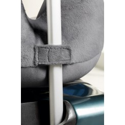 بالش دور گردنی سه بعدی مسافرتی رنگ نقره ای مرادیسو | Meradiso