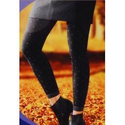 ساق شلواری پاییزه خالخالی سورمه ای نوردای   nurdie
