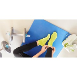پک دوعددی جوراب ساق کوتاه دوندگی چیبو | Tchibo