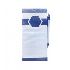 استیکی نوت بنفش 70 برگ به همراه مگنت و خودکار یونایتد آفیس | UNITED OFFICE