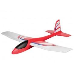 هواپیما گلایدر مدل سفید-قرمز پلی تیو | Playtive