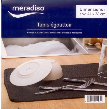 رطوبت گیر کنار سینک رنگ مشکی مرادیسو  Meradiso