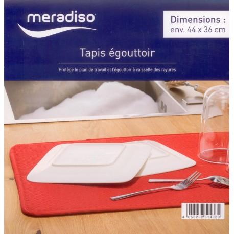 رطوبت گیر کنار سینک رنگ قرمز مرادیسو  Meradiso