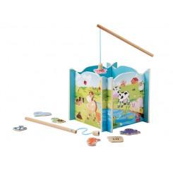 مجموعه 20 تکه بازی چوبی مدل ماهیگیری پلی تیو جونیور   PLAYTIVE JUNIOR