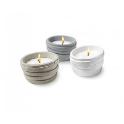 ست شمع سه تایی طرح دار چیبو | Tchibo