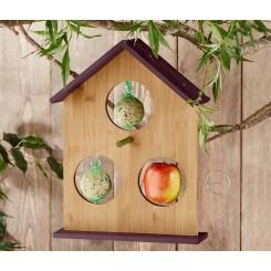 دانخوری پرنده چوبی طرح خانه چیبو | Tchibo