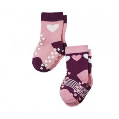 جوراب دوتایی ضد لغزش بچه گانه چیبو | Lupilu