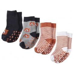 پک دوتایی جوراب استپ دار بچه گانه لوپیلو | Lupilu