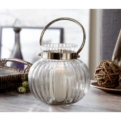 جا شمعی شیشه ای طرح فانوس چیبو | Tchibo