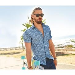 پیراهن آستین کوتاه مردانه چیبو | Tchibo