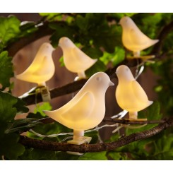 چراغ تزئینی LED طرح پرنده چیبو | Tchibo