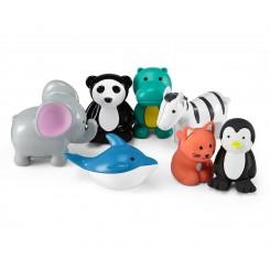 پک 7 عددی پاک کن فیگور حیوانات چیبو | Tchibo