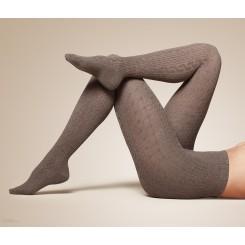 جوراب شلواری ریز بافت طرح دار زنانه چیبو | Tchibo
