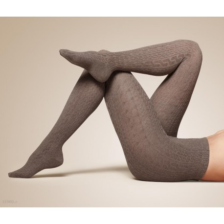 جوراب شلواری ریز بافت طرح دار زنانه چیبو   Tchibo