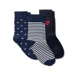 پک سه تایی جوراب ساق بلند زنانه چیبو | Tchibo
