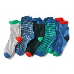 پک پنج تایی جوراب ساق بلند بچه گانه چیبو | Tchibo